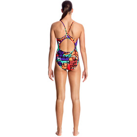 Funkita Diamond Back One Piece Swimsuit Women Street Beat